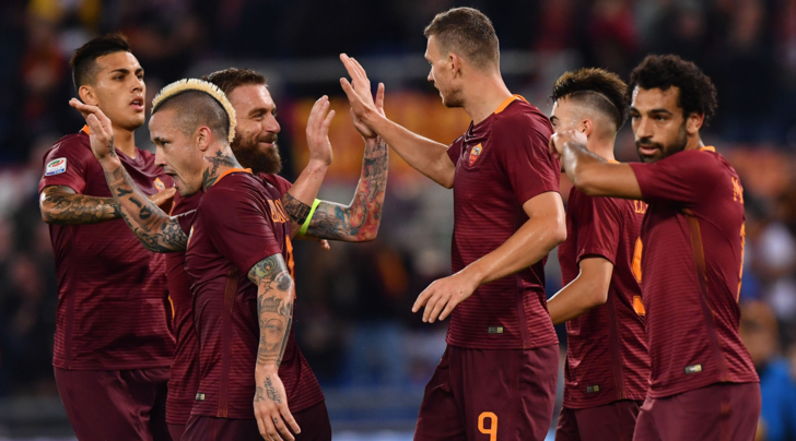 «Рома» разгромила «Палермо», сократив отставание от«Ювентуса»