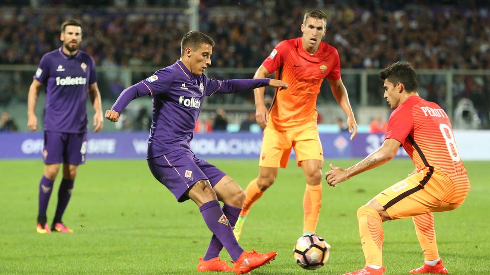 «Фиорентина» прервала 20-матчевую серию «Ромы» без поражений вчемпионате Италии