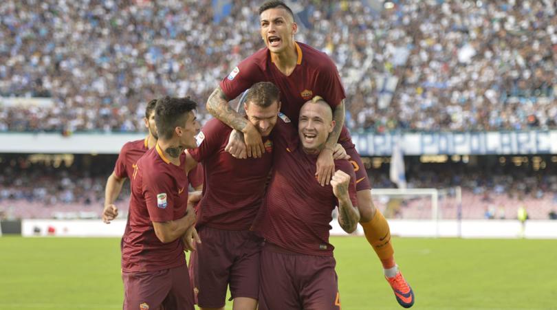 «Рома» одолела вНеаполе ивышла на 2-ое место вСерии А